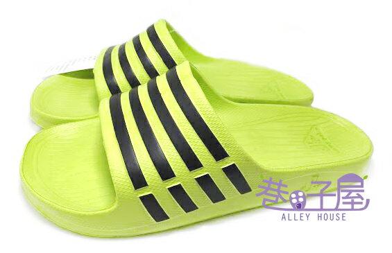 【巷子屋】JIMMY POLO 男/女款經典條紋超輕量拖鞋 [65002] 綠 超值價$190