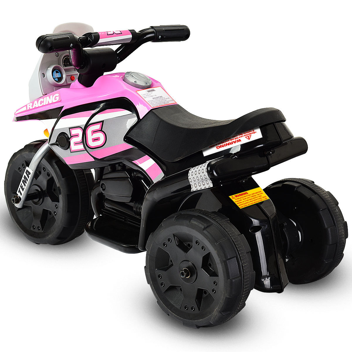 Costway: 6V Kids Ride On Motorcycle Battery Powered 3