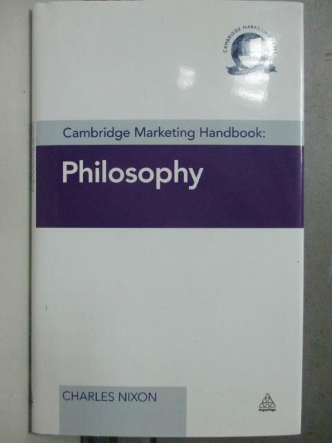 ~書寶 書T2/原文書_HOC~Cambridge Marketing Handbook_
