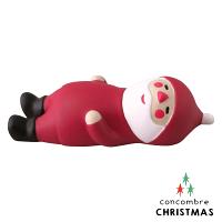 送家人聖誕交換禮物推薦聖誕禮物抱枕及靠枕到Decole 聖誕老人 -  吃飽飽的聖誕老公公  Concombre ( ZXS-48181 ) 現貨 推薦聖誕交換禮物 聖誕佈置裝飾推薦就在文五雙全x文具五金生活館推薦送家人聖誕交換禮物
