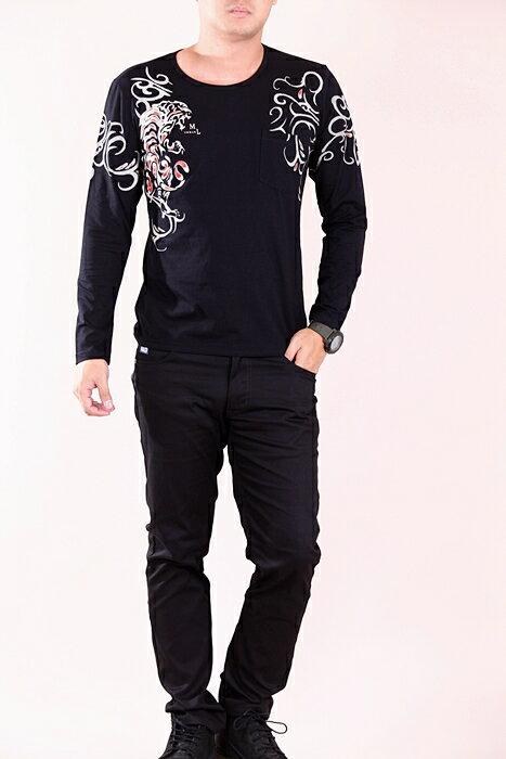 CS衣舖 彈力伸縮 高質感 長袖T恤 3315 5