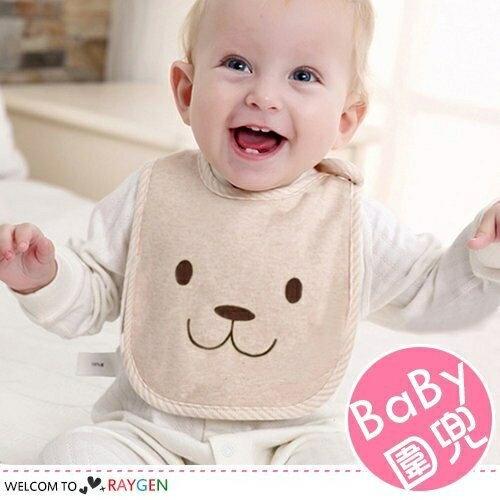 卡通兔四季適用棉質嬰兒圍兜 口水巾