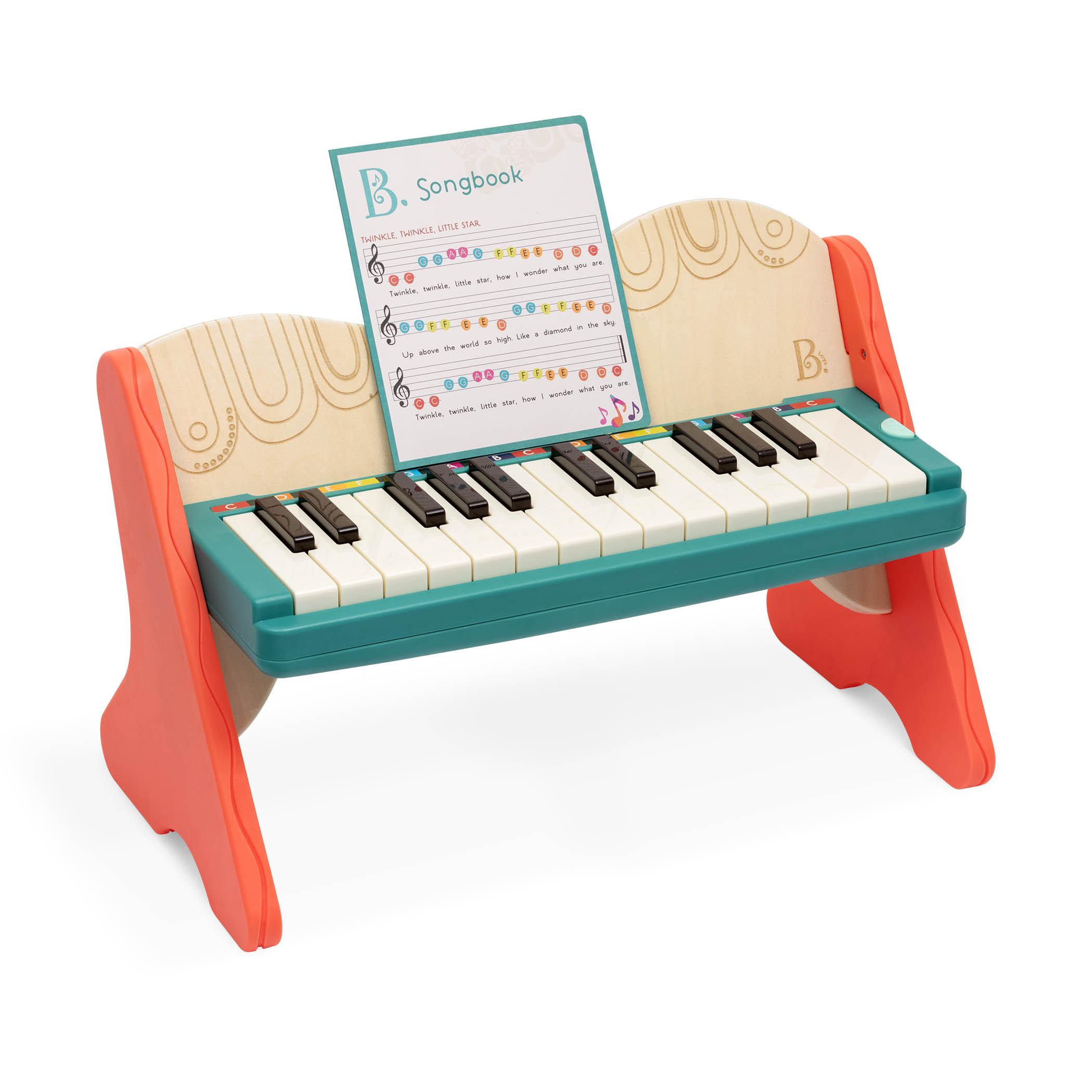 美國 B.Toys 感統玩具 25階隨行演出鋼琴 BX1819Z/教育玩具/音樂【紫貝殼】