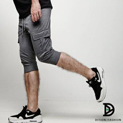 DITION 運動ORIGINAL側邊口袋抽繩棉褲 健身 1
