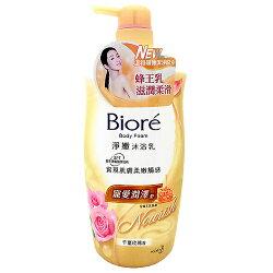 蜜妮Biore 淨嫩沐浴乳 寵愛潤澤型-千葉玫瑰香 1000ml