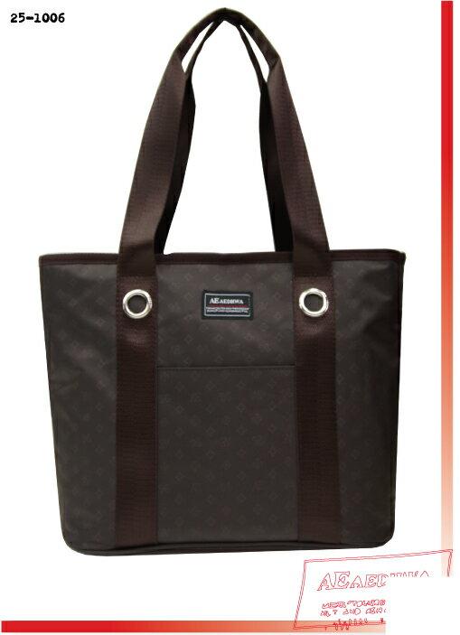 《AEDHWA》經典悠閒魅力滿版Logo購物袋 (二色)