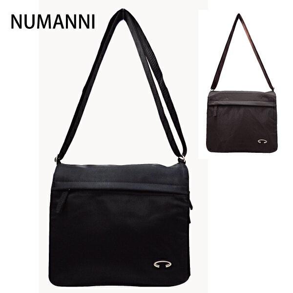 25-7803【NUMANNI】俐落實用防水尼龍側背包 (二色)