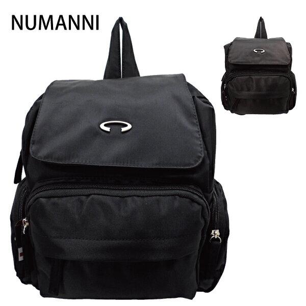 25-7805【NUMANNI 奴曼尼】簡約尼龍個性搭配後背包 (二色)
