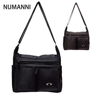 25-a213【NUMANNI 奴曼尼】實用型多口袋尼龍側背包 (二色)