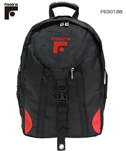 FE3018 美國加州【FREELINE】滑板玩家最愛的功能型尼龍電腦後背包