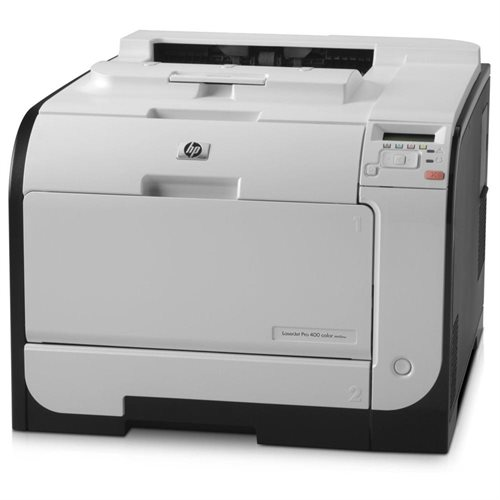 HP M451nw LaserJet Pro 400 Color Printer 3