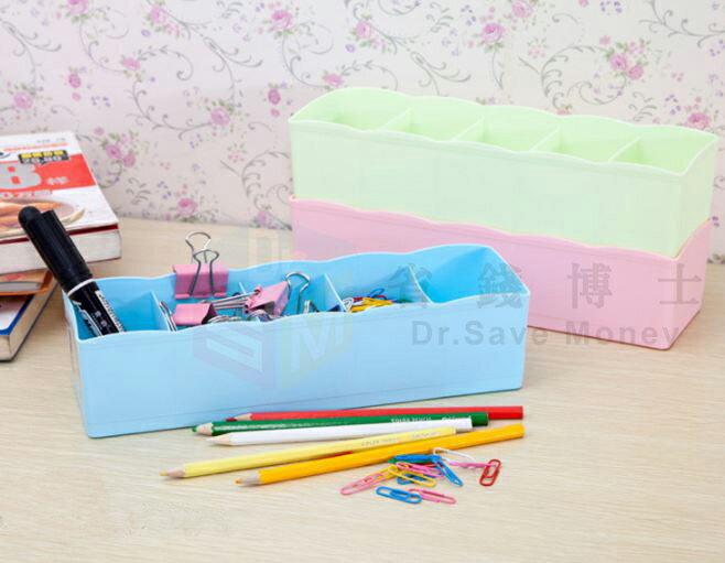 【省錢博士】5格抽屜桌面整理盒 / 可疊加收納盒塑料儲物盒   29元