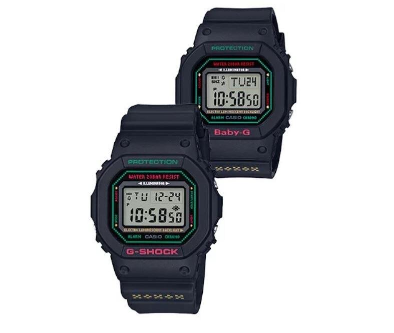 CASIO 卡西歐 LOV-19A-7A LOV-19B-1 G-SHOCK x BABY-G 天使與惡魔聖誕限量情侶對錶 4