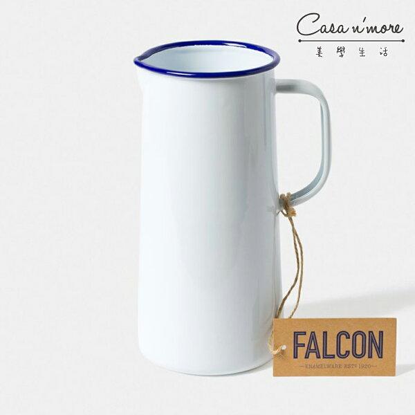 Falcon獵鷹琺瑯3品脫水壺水瓶水杯藍白