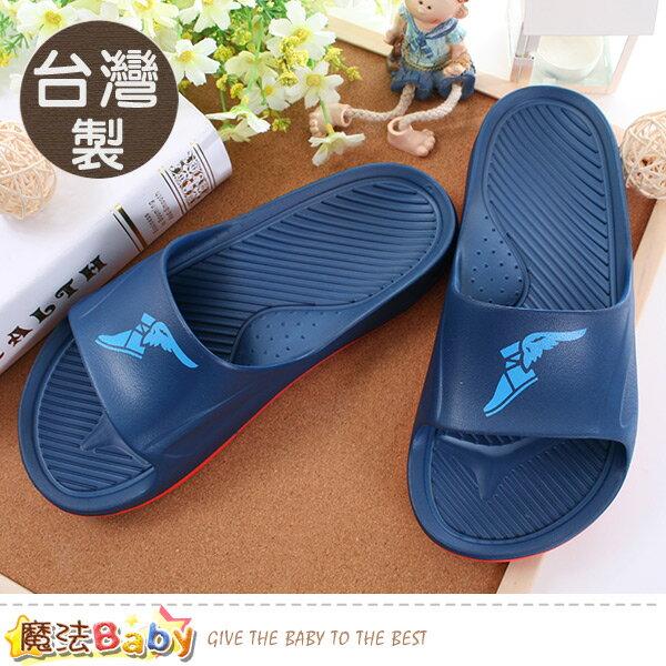 男鞋台灣製輕量彈力運動拖鞋魔法Baby~sa83807