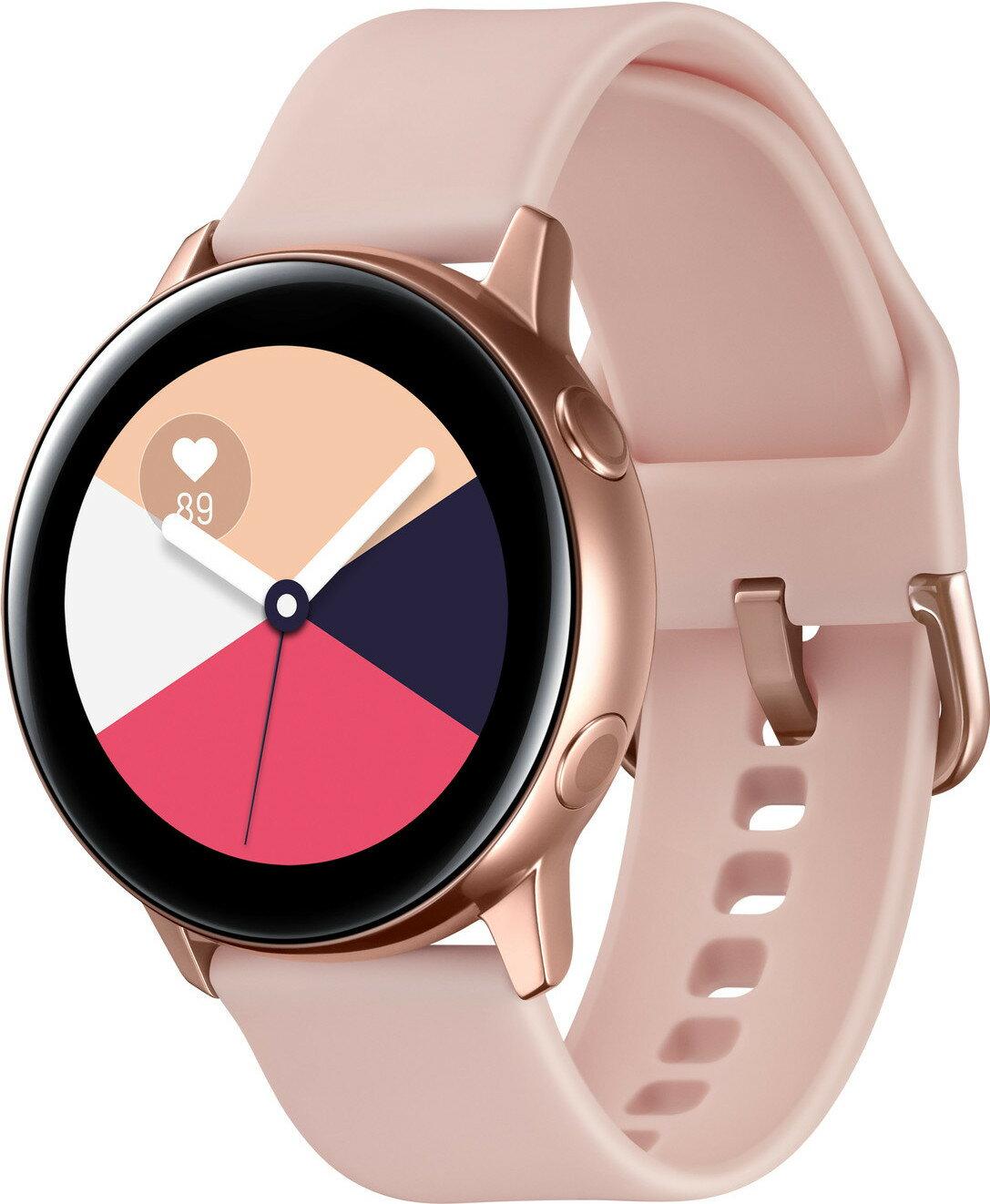 Sobeonline1 Samsung Galaxy Watch Active R500 4gb Smartwatch Rose