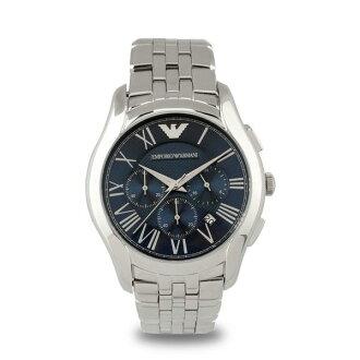 EMPORIO ARMANI/AR1787都會雅痞計時腕錶/藍面44.5mm