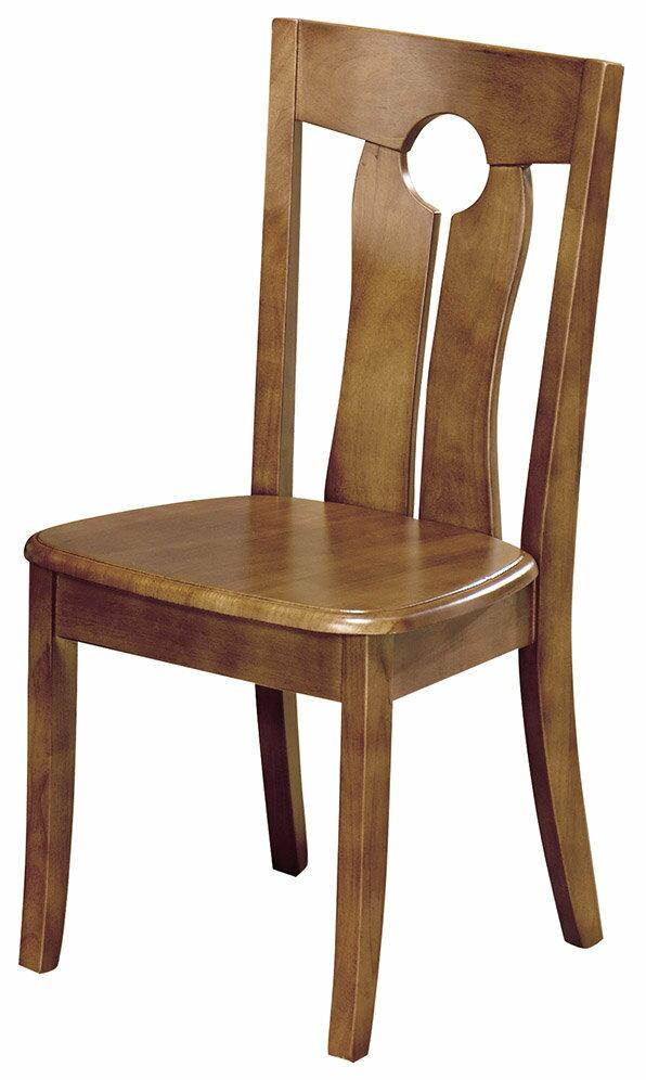 【石川家居】CE-457-07 雷夫柚木色餐椅 (單張)(不含餐桌與其他商品)