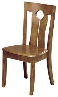 【石川家居】YE-A476-12雷夫柚木色實木餐椅(單張)(不含餐桌與其他商品)台北到高雄搭配車趟免運