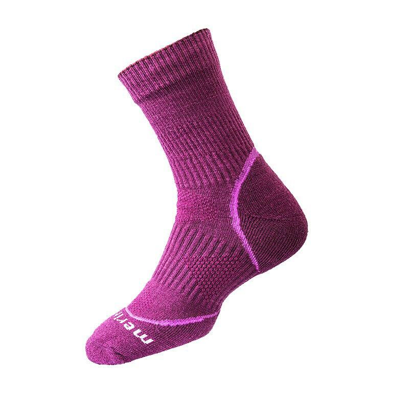戶外避震抗菌銀纖維美麗諾羊毛襪 L (26~28) 羊毛襪 抑菌 除臭 保暖 抗寒 避震 登山 攀岩 1