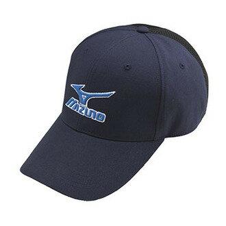 MIZUNO美津濃MCLINE透氣棉布棒球帽32TW760414(深藍)[陽光樂活]