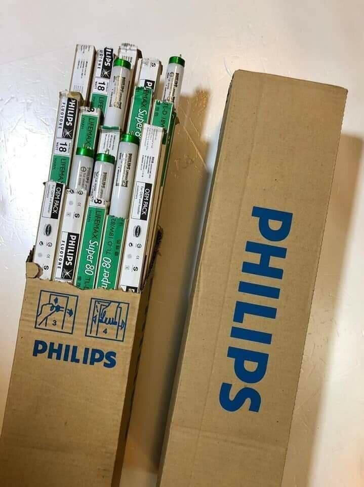 飛利浦PHILIPS 18W 三波長高效率省電T8燈管 黃光 2尺 燈管