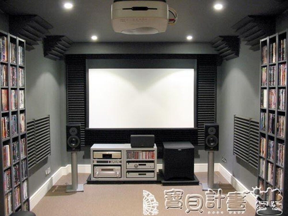 吸音棉 吸音棉隔音板ktv影院酒吧墻角低頻陷阱低音海綿材料音箱JD 寶貝計畫 0