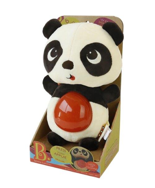 【美國B.Toys感統玩具】熊貓肚咕