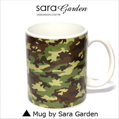 ^(24H^) 客製  彩繪 馬克杯 Mug 迷彩  海陸 咖啡杯 陶瓷杯 杯子 Sara