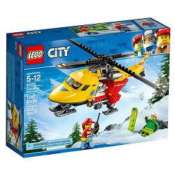 樂高積木LEGO《 LT60179 》2018 年 CITY 城市系列 - 救護直升機