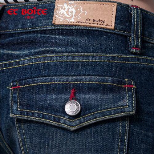 五分牛仔短褲 - BLUE WAY  ET BOiTE 箱子 1