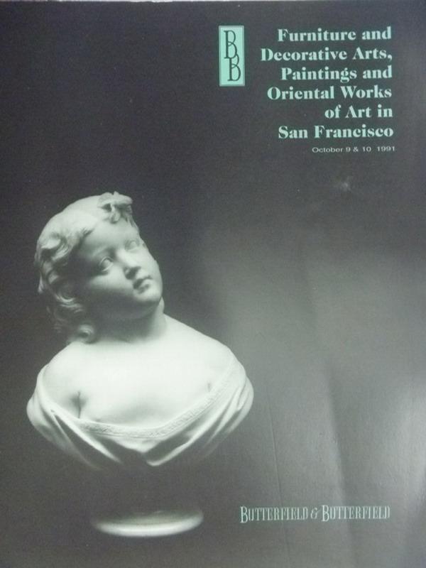 【書寶二手書T5/收藏_XAK】Furniture decorative arts..._1991/10/8.9