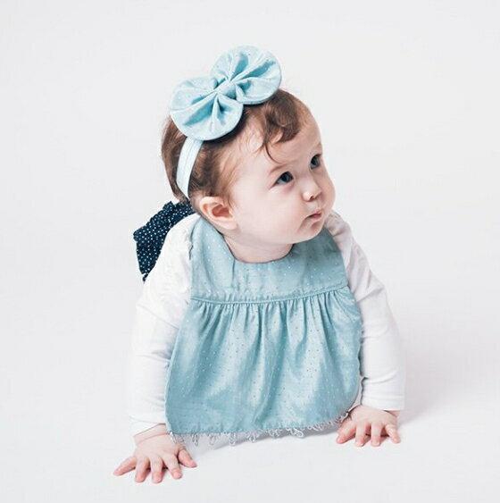 NIVA嬰幼兒超可愛髮帶(湖水綠)