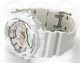國外代購CASIO BABY-G 白天使 BA-110LB-7A 雙顯 防水 手錶 腕錶 情侶錶 3