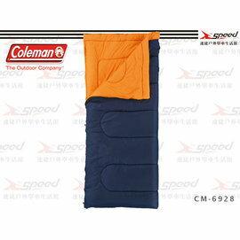 【速捷戶外】【美國Coleman】Performer C5表演者睡袋5度C/信封型睡袋/可機洗 CM-27262(海軍藍)