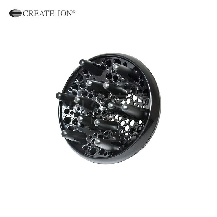 《日本Create Ion》「翻轉風」專業沙龍級負離子吹風機專用烘罩(黑)