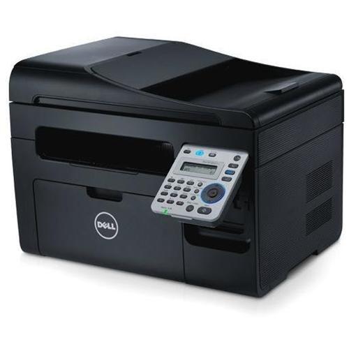 Dell B1165NFW Laser Multifunction Printer - Monochrome - Plain Paper Print - Desktop - Copier/Fax/Printer/Scanner - 21 ppm Mono Print - 1200 x 1200 dpi Print - Manual Duplex Print - 21 cpm Mono Copy LCD - 1200 dpi Optical Scan - 150 sheets Input - Fast Et 1