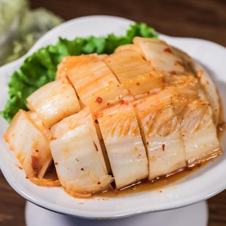 韓國泡菜600g/瓶(全素) 嚴選韓國進口大白菜、韓國辣椒粉製作