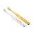 『121婦嬰用品館』黃色小鴨 幼兒牙刷 - 限時優惠好康折扣