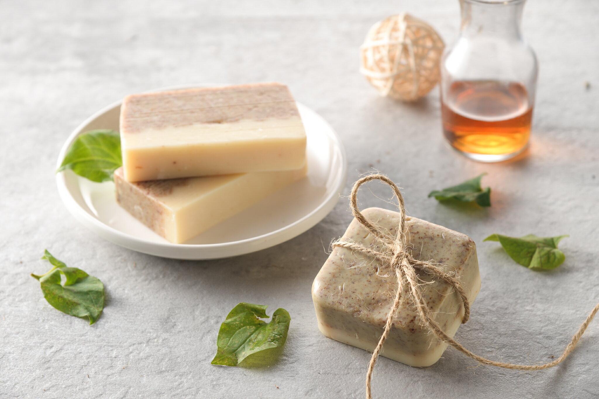 魚腥草皂  3入禮盒裝/2入.4入麻袋裝 香皂/肥皂/手工皂/沐浴/清潔
