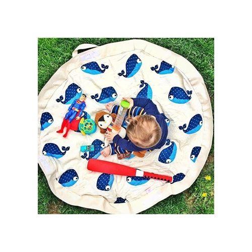 加拿大 3 Sprouts 玩具收納袋-鯨魚(玩具秒收神器)#0498★愛兒麗婦幼用品★