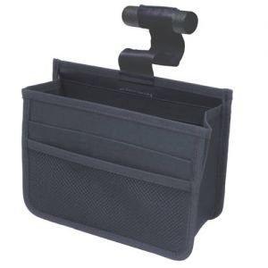權世界@汽車用品 日本 NAPOLEX 多功能車內及頭枕便利置物袋(付固定桿及勾) JK-42