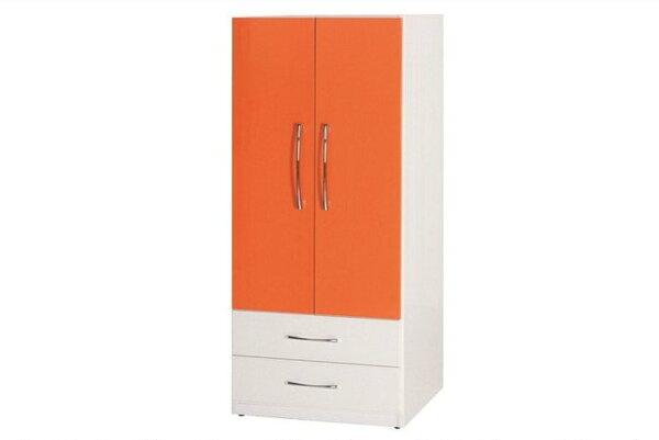 【石川家居】830-09(桔白色)衣櫥(CT-113)#訂製預購款式#環保塑鋼P無毒防霉易清潔