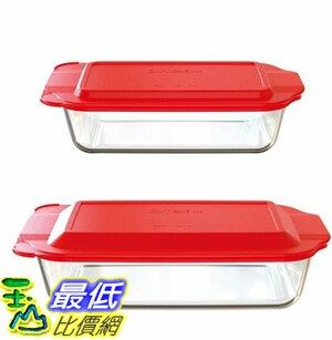 [COSCO代購] W1309834 Pyrex 玻璃烤皿含蓋共4件組