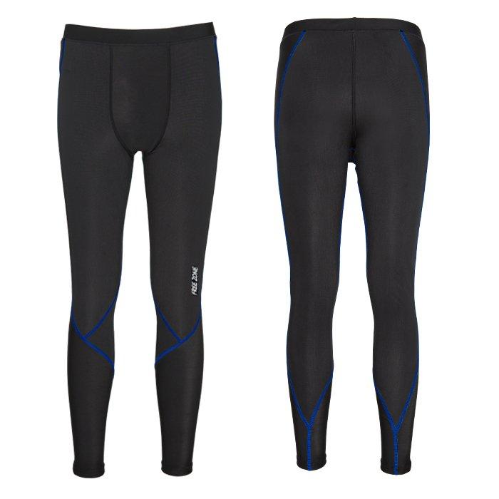 【FREEZONE 台灣】100型 機能壓力褲 運動褲 男款 深藍色 (FZ100M-LONG)
