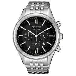 CITIZEN 星辰 簡約奢華光動能男腕錶 銀 CA4410-84E 40mm