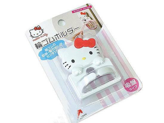 【真愛日本】15061700015 吸盤掛勾-KT大頭紅結 三麗鷗 Hello Kitty 凱蒂貓 居家 收納 正品 限量 預購