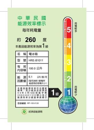 <br/><br/>  ★杰米家電☆【禾聯HERAN】小冰箱HRE-B1011<br/><br/>