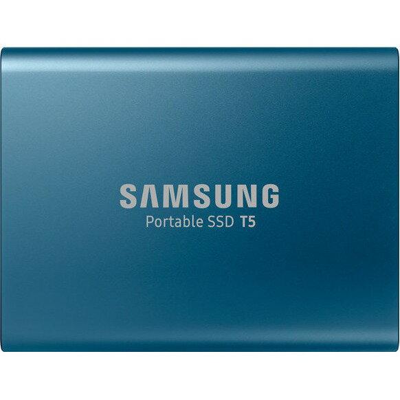 "Samsung T5 Portable 250GB SSD 2.5"" USB 3.1 V-NAND External Solid State Drive MU-PA250B 0"