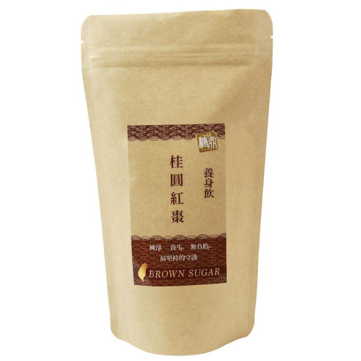 【糖鼎養生鋪】徐晞庭(晞晞)推薦→桂圓紅棗茶磚-輕巧包(35克x8顆獨立包裝)